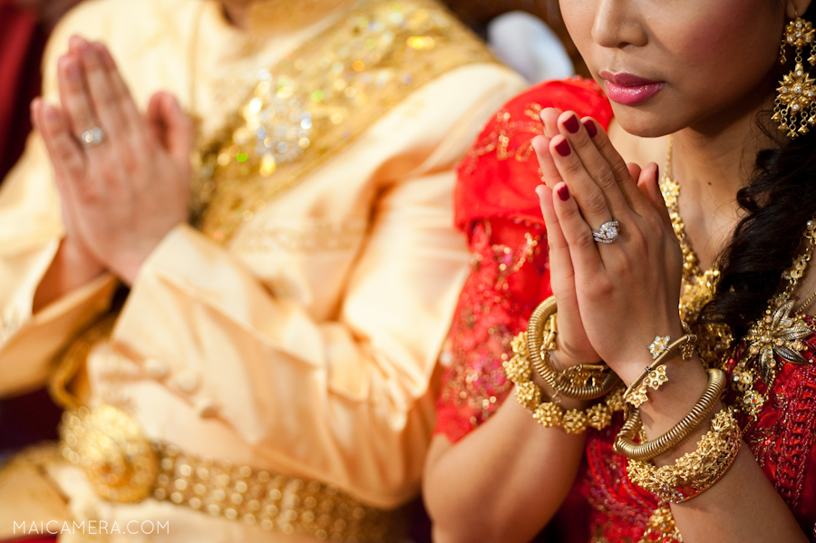 Cambodian Wedding Ceremony by MaiCamera Photography