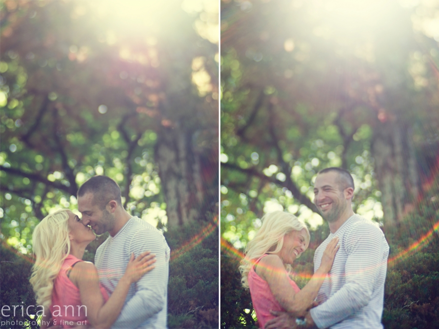 Sunny Day Portland Engagement shoot