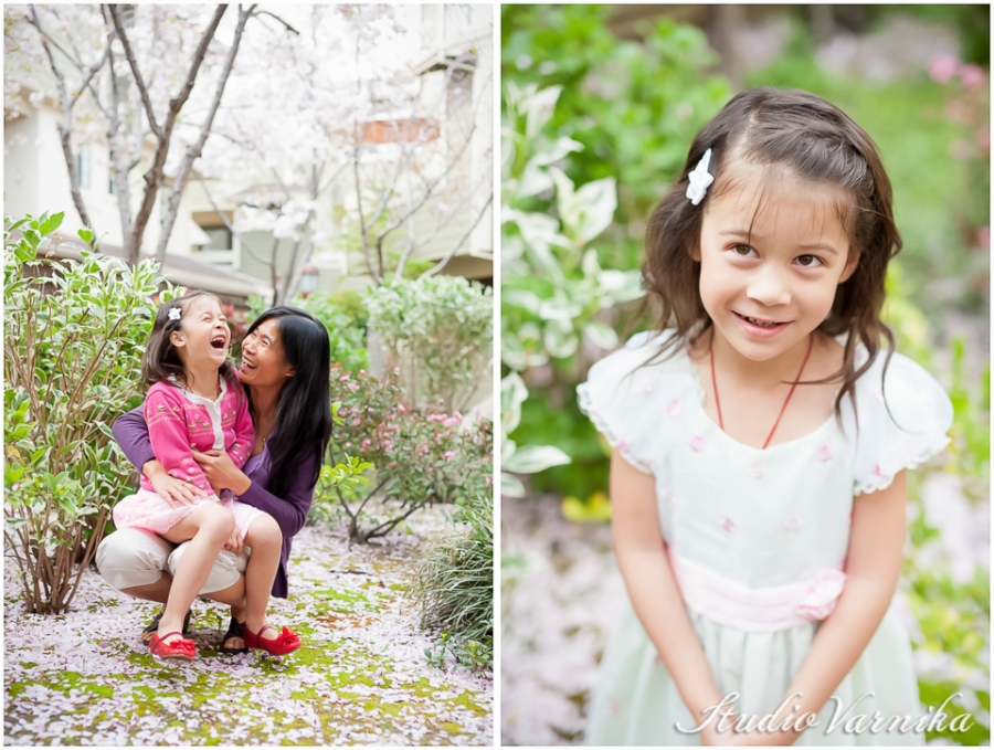 Spring Easter Portraits with Cherry Blossoms! | Photographers of Portland