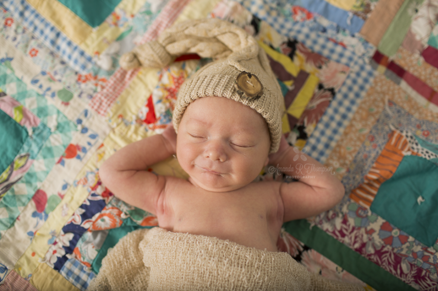 Mellow Portland Newborn | Photographers of Portland