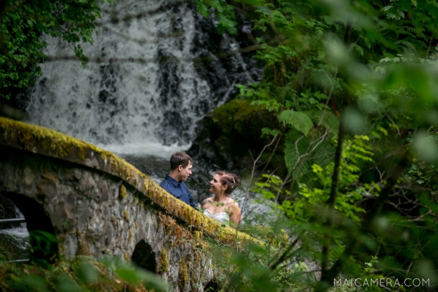 Intimate Columbia Gorge Elopement