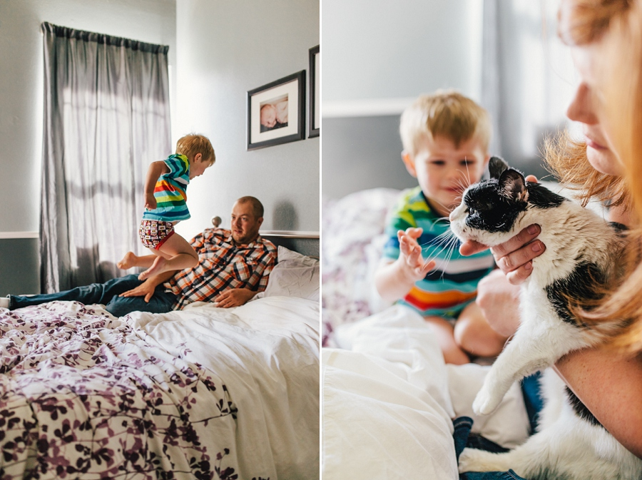 In home Family Photos | Photographers of Portland