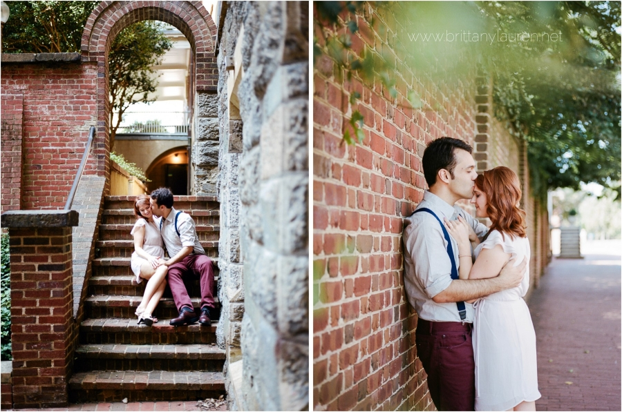 georgetown engagement - brittany lauren photography