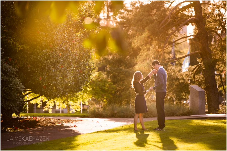 Oregon State Capitol Engagement Session
