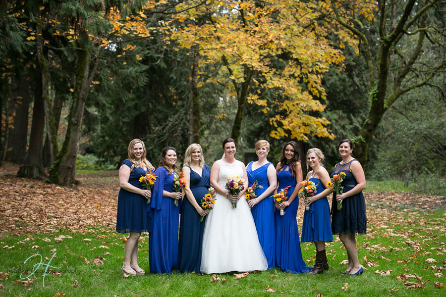 Heather Fitch Photography Wedding Fall, Portland Oregon