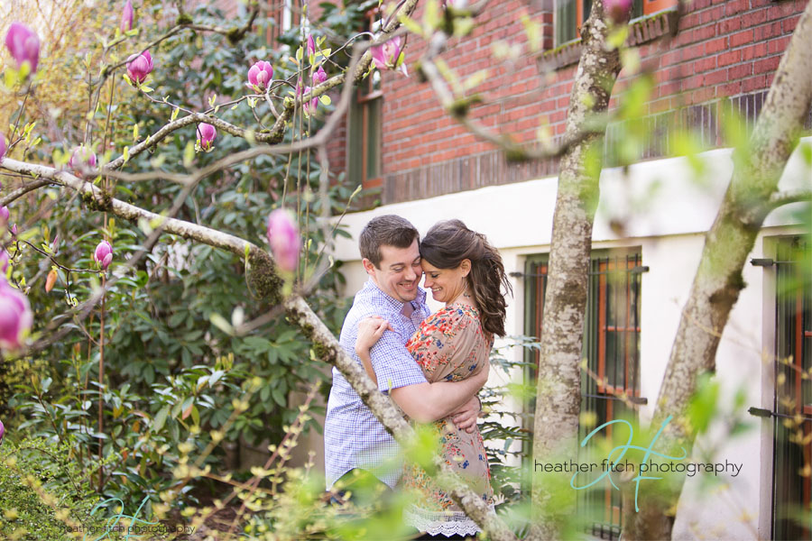 Heather Fitch Photography Engagement, Portland Oregon