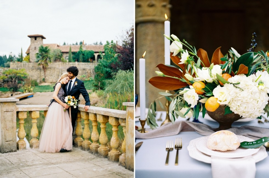 villa catalana wedding - spanish wedding inspiration